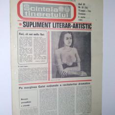 Ziar - supliment literar artistic SCANTEIA TINERETULUI - 6 martie 1983