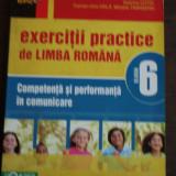 EXERCITII PRACTICE DE LIMBA ROMANA PENTRU CLS A 6-A - MINA MARIA RUSU
