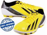 Ghete fotbal Adidas F5 - adidasi originali - ghete barbat - adidasi fotbal, 44, Galben, Barbati