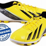 Ghete fotbal Adidas F5 - adidasi originali - ghete barbat - adidasi fotbal, Marime: 44, Culoare: Galben, Barbati, Iarba: 1