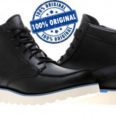 Ghete barbat Nike Kingman - ghete originale - ghete iarna - piele naturala - Ghete barbati Nike, Marime: 42, Culoare: Negru