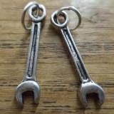 Pandantiv / martisor / cercei cheie mecanic