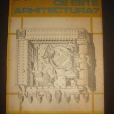 COSMA JUROV - CE ESTE ARHITECTURA ? - Carti Constructii