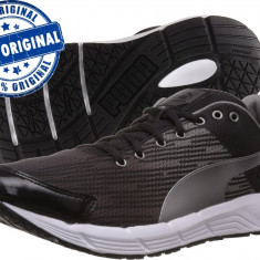 Adidasi barbat Puma Sequence - adidasi originali - running - adidasi alergare - Adidasi barbati Puma, Marime: 44, Culoare: Negru, Textil