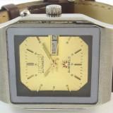 Ceas automatic Ricoh - 11 - Ceas barbatesc, Casual, Mecanic-Automatic, Inox, Piele, Ziua si data