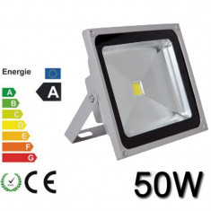 Proiector Plasma LED Super Slim 50w Echivalent 500w Exterior 50 w
