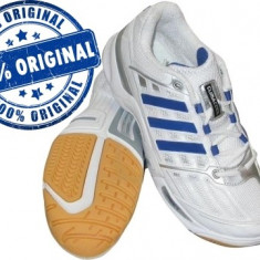 Adidasi barbat Adidas Court Climacool - adidasi originali - handbal - Adidasi barbati, Marime: 46 2/3, Culoare: Alb, Textil