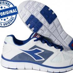 Adidasi barbat Diadora Hawk 3 - adidasi originali - running - adidasi alergare - Adidasi barbati Diadora, Marime: 42, 43, 44, Culoare: Alb, Textil