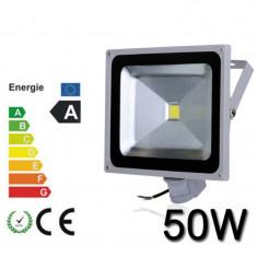 Proiector Plasma LED 50W echivalent 500W cu Senzor 50W