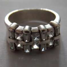 Inel argint model impletit - 218
