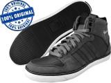 Adidasi barbat Adidas Originals Vespa Gs 2 Hi - adidasi originali - ghete, 40 2/3, Gri, Piele intoarsa