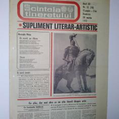 Ziar - supliment literar artistic SCANTEIA TINERETULUI - 20 martie 1983