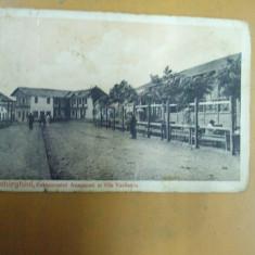 Techirghiol restaurantul Anagnosti si vila Vasilescu editura Maier & Stern - Carte Postala Dobrogea 1904-1918, Circulata, Printata