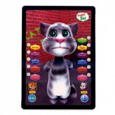 Tableta interactiva TALKING TOM 3D, Touch, Repeta Vorbeste Canta, Garantie - Jucarie interactiva, Altele, Unisex, Plastic