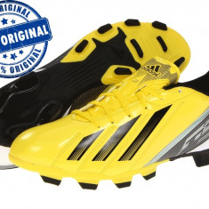 Ghete fotbal Adidas F5 - adidasi originali - ghete barbat - adidasi fotbal, Marime: 40, Culoare: Galben, Barbati, Iarba: 1