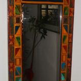 Panou decorativ cu oglinda
