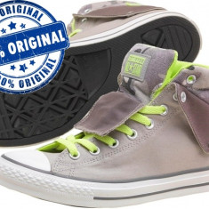 Adidasi barbat Converse Padded Collar - adidasi originali - tenisi panza - Tenisi barbati Converse, Marime: 43, Culoare: Gri, Textil