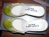 Cumpara ieftin Pantofi de dama, pentru vara , verzi (vara - concediu - vacanta), marimea 37 NOI