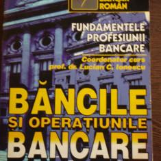 BANCILE SI OPERATIUNILE BANCARE - LUCIAN C. IONESCU - Curs Economie