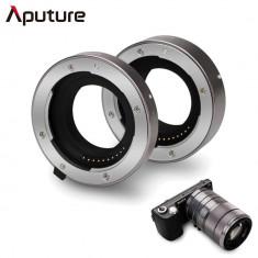 Aputure AC-MS Tuburi de extensie macro pentru Sony E-Mount - Inel macro obiectiv foto