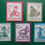 Olanda 1950 32 Euro povesti cu copii - serie nestampilata MH