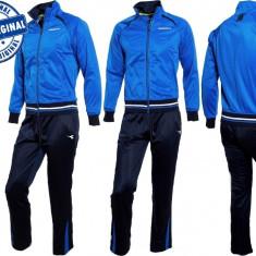 Trening barbat Diadora Blue - trening original - treninguri barbati - Trening barbati Diadora, Marime: S, Culoare: Din imagine, Poliester