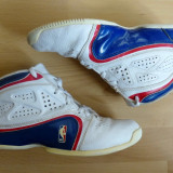 Adidasi Adidas NBA, piele naturala; marime 38 (24 cm talpic interior);impecabili