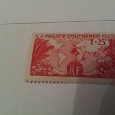 Franta 1940 arbori mh, Nestampilat