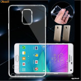 Husa Samsung Galaxy A5 A510 (2016) TPU Ultra Thin 0.3mm Transparenta, Transparent, Gel TPU