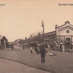 FOCSANI, PIATA MOLDOVEI, TARANI, PIATA, CIRCULATA JUN.*923 - Carte Postala Moldova dupa 1918, Printata