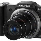 Olympus SZ-10 (Negru) Filmare HD, Poze 3D, Husa