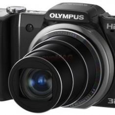 Olympus SZ-10 (Negru) Filmare HD, Poze 3D, Husa - Aparat Foto compact Olympus