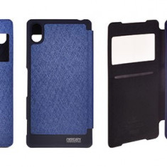 Husa Samsung Galaxy S4 i9500 Flip Case Slim Blue by Mercury