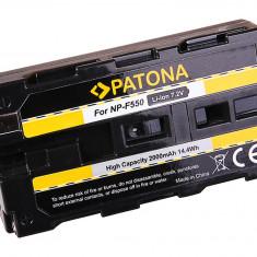 PATONA | Acumulator pt Sony NP-F550 NP F550 NPF550 NP-F330 NP-F530 NP F570 - Baterie Camera Video