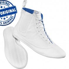 Adidasi barbat Adidas Originals Easy Five Hi - tenisi originali - adidasi panza - Tenisi barbati Adidas, Marime: 41 1/3, Culoare: Alb, Textil