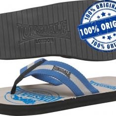 Papuci barbat Lonsdale Newby - papuci originali - papuci plaja - papuci piscina - Papuci barbati Lonsdale, Marime: 44, Culoare: Din imagine