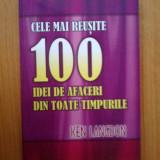 z1 Ken Langdon - Cele mai reusite 100 idei de afaceri din toate timpurile