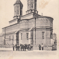 IASI-BISERICA TREI IERARHI CU PERSPECTIVE MITROPOLIE - Carte Postala Moldova pana la 1904, Necirculata, Printata