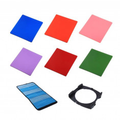 Kit 6 filtre + holder Commlite Conversion compatibile Cokin P - Filtru foto
