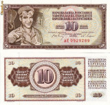 IUGOSLAVIA 10 dinara 1968 UNC!!!