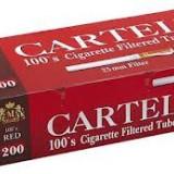 Tuburi tigari CARTEL RED 200 TUBURI FILTRU MARO TUBURI LUNGI - Foite tigari