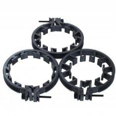 Set inele cremaliera follow-focus EA-05 pentru obiective foto - Inel macro obiectiv foto