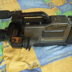 Camera video S-VHS Panasonic NV-MS4 (1990) functionala! - Camera Video Panasonic