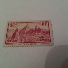 Franta 1933 le puy serie mh, Nestampilat