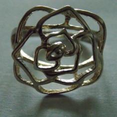 Inel argint trandafir - 246