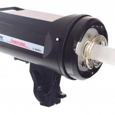 FST S-400BA Blitz studio 400W GN 65 cu receiver radio integrat, montura accesorii Bowens si ventilator - Blitz slave