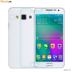 Geam Samsung Galaxy A3 A310 (2016) Tempered Glass 0.3mm - Folie de protectie Samsung, Lucioasa