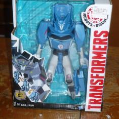 Figurina Hasbro Transformers Rid Legion Hyper Change Heroes Steeljaw - OKAZIE - Roboti de jucarie Hasbro, 6-8 ani, Plastic, Baiat