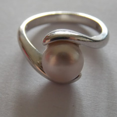 Inel argint cu perla - 180