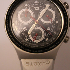 CEAS DE MANA SWATCH SWISS MADE-QUARTZ-FUNCTIONEAZA BINE.